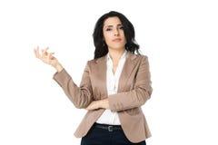 Giovane donna di affari Fotografia Stock Libera da Diritti