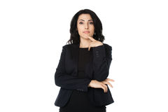 Giovane donna di affari Fotografia Stock