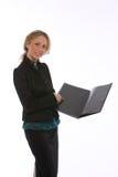 Giovane donna di affari Immagine Stock Libera da Diritti
