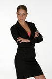 Giovane donna di affari Immagini Stock