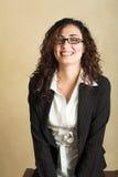 Giovane donna di affari adulta Immagine Stock Libera da Diritti