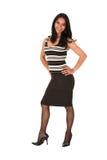Giovane donna di affari adulta Fotografia Stock Libera da Diritti