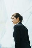 Giovane donna di affari asiatica Fotografie Stock