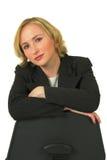 Giovane donna di affari attraente Fotografia Stock