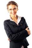 Giovane donna di affari attraente Fotografie Stock