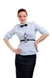 Giovane donna di affari o insegnante o allievo Fotografia Stock Libera da Diritti