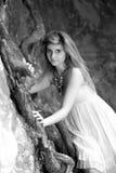 Giovane donna di bellezza Immagini Stock