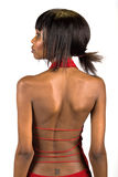 Giovane donna di colore attraente Fotografie Stock Libere da Diritti