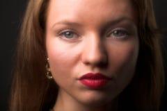 Giovane donna di fascino Fotografia Stock