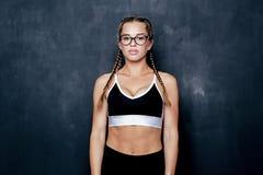Giovane donna di forma fisica Fotografie Stock Libere da Diritti
