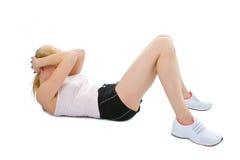 Giovane donna di forma fisica Fotografia Stock