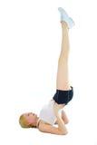 Giovane donna di forma fisica Fotografie Stock