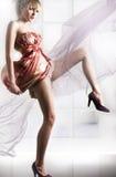 Giovane donna elegante fotografia stock libera da diritti