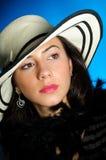 Giovane donna elegante Fotografia Stock