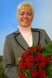 Giovane donna felice Immagini Stock Libere da Diritti