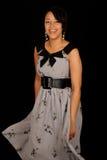 Giovane donna felice fotografie stock