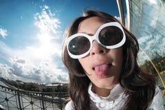 Giovane donna Funky Immagine Stock Libera da Diritti