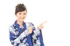 Giovane donna giapponese attraente immagine stock libera da diritti