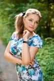 Giovane donna graziosa Fotografia Stock Libera da Diritti