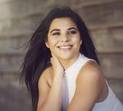 Giovane donna graziosa Fotografie Stock