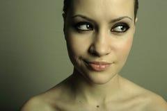 Giovane donna graziosa Fotografia Stock