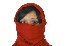 Giovane donna musulmana fotografia stock