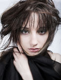 Giovane donna nel dolore Fotografie Stock Libere da Diritti