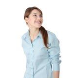 Giovane donna o allievo di affari Fotografia Stock Libera da Diritti