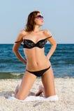 Giovane donna piacevole sexy Fotografie Stock Libere da Diritti