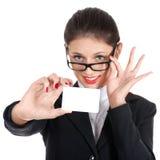 Giovane donna professionale Immagine Stock