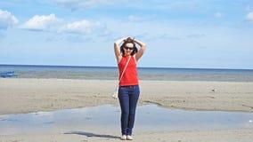 Giovane donna 15 Sea Fotografia Stock