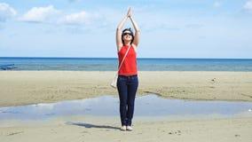 Giovane donna 15 Sea Fotografie Stock Libere da Diritti