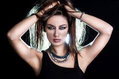 Giovane donna sensuale Fotografie Stock Libere da Diritti