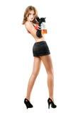 Giovane donna sexy Fotografie Stock Libere da Diritti