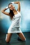 Giovane donna sexy Fotografie Stock