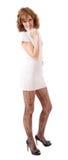 Giovane donna snella Fotografie Stock Libere da Diritti