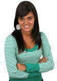 Giovane donna sorridente Immagine Stock Libera da Diritti