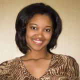 Giovane donna sorridente. Immagini Stock Libere da Diritti