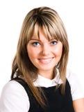 Giovane donna sorridente fotografie stock libere da diritti