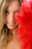 Giovane donna sorridente felice Immagini Stock
