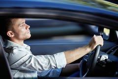 Giovane driver Fotografia Stock Libera da Diritti