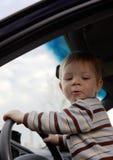 Giovane driver Immagine Stock