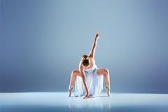 Giovane e bello ballerino di balletto Fotografia Stock Libera da Diritti
