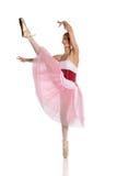 Giovane effettuazione della ballerina Immagini Stock Libere da Diritti