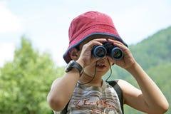 Giovane esploratore fotografia stock libera da diritti
