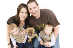 Giovane famiglia Fotografia Stock Libera da Diritti