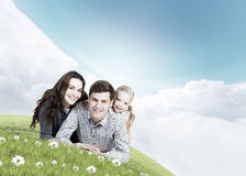 Giovane famiglia Fotografia Stock