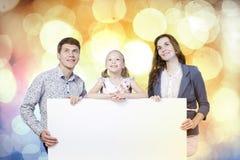 Giovane famiglia Fotografie Stock Libere da Diritti