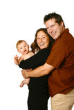 Giovane famiglia felice fotografie stock libere da diritti