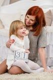 Giovane famiglia felice. Immagine Stock